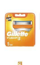 Gillette Fusion5 Rasierklingen, 5 Stück, briefkastenfähige Verpackung ORIGINAL )