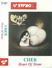 CHER HEART OF STONE IMPORT POLISH STFBO CASSETTE ALBUM ORIGINAL SKULL COVER