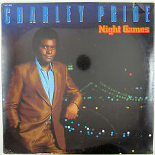 CHARLEY PRIDE Night Games LP 1983 COUNTRY ( STILL SEALED/UNPLAYED)