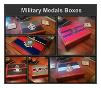 Royal Hampshire Regiment Military Medals and Memorabilia Box, Great Gift