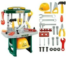 Kids Workbench Kit Pretend Play Tool Box Drill Tools Game Learning Toys for Boys