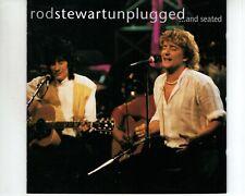 CD ROD STEWARTunplugged and seatedEX- (A3736)