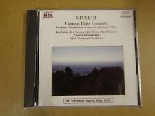 CD NAXOS / VIVALDI - FAMOUS FLUTE CONCERTI