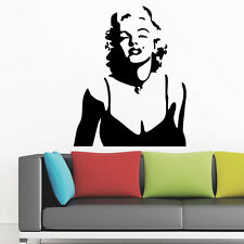 Marilyn Monroe Wall Decals Removable Stickers Decor Vinyl Mural Decal Decoration