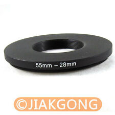 55mm-28mm 55-28 Step Down Filter Ring Stepping Adapter
