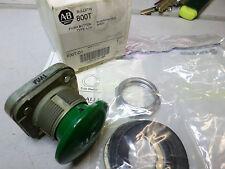 ALLEN BRADLEY - PUSH BUTTON - GREEN MUSHROOM HEAD - 800TC-D1 - Qty avail