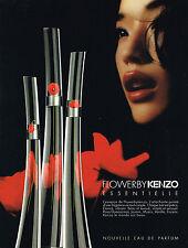 PUBLICITE ADVERTISING   2009   LES SENTEURS DE KENZO