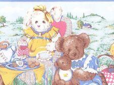 Teddy Bears Picnic Childrens Wallpaper Border