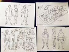 AKIRA Japanese Anime Animation Production Staff Character Settei Copy 174 Sheets