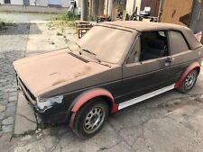 VW Golf I Cabrio Garagenfund