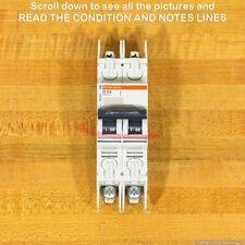 Square D 60255 Circuit Breaker, 3 Amp 2 Pole 240 Vac, New!
