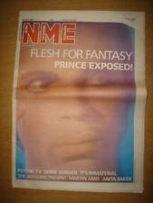 NME 1986 APRIL 26 PRINCE THE WEDDING PRESENT MARTIN AMIS