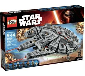 LEGO Star Wars Millennium Falcon 75105 Brand New & Sealed Retired Rare Mint