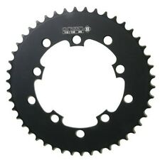 Origin8 Bmx/Ss/Fixie Chainrings-110mm/130mm 5-Bolt-46T-1/2X3/32-Black-New