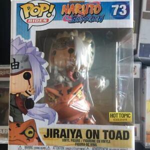 Funko Pop! Naruto Shippuden JIRAIYA ON TOAD #73 Vinyl Figure Hot Topic Exclusive