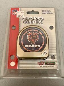 Chicago Bears Football Vibrant Retro Vintage Alarm Clock Desk Decor NFL NEW