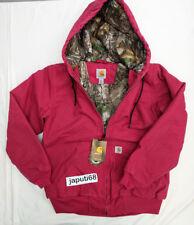 Carhartt Womens Sandstone Active Jacket Camo lined CBA  sz XSmall [BX#41-1732]