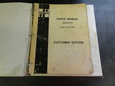Hyster S30C S40C S50C Spacesaver Forklift Parts Manual    599004