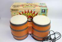 Nintendo GameCube Donkey Konga Konga DRUMS Boxed Japan Ver from JAPAN