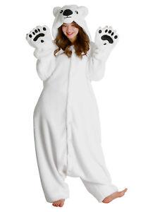 SAZAC Polar Bear Kigurumi - Adult Costume from USA