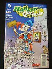 DC comics Harley Quinn 5 variant MAD 1:25 NEW 52 Batman excellent