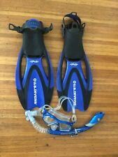 U.S. Divers Men's Scuba Mask Snorkel and Proflex 7-10 Flippers