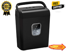 6 Sheet Micro Cut Paper Shredder P 4 High Security For Home Amp Small Office Use