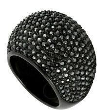 Swarovski | Black Stone Jethem Ring *New* 5017148 Rare Retired Crystal 52 6 Usa