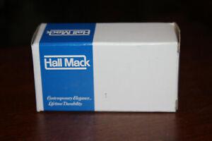 VINTAGE Hall Mack Metropolitan HM-694 Square Towel Bar Post  WITH 18'' BAR NOS