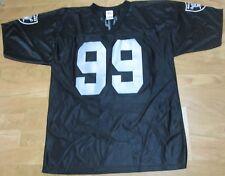 f3cb1c7fe Oakland Raiders Football Warren SAPP Black Jersey 99 2xl