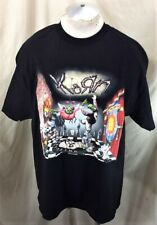 """Vintage 2002 Giant Korn """"Untouchables"""" (XL) Retro Nu Metal Graphic Band T-Shirt"""