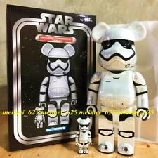 Bearbrick Medicom 2019 Star Wars First Order Stormtrooper Chrome ver. 100% 400%