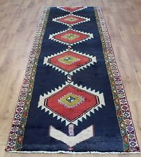 OLD WOOL HAND MADE PERSIAN ORIENTAL FLORAL RUNNER AREA RUG CARPET 300x88CM
