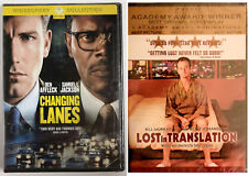 Changing Lanes + Lost in Translation Dvd's Widescreen Enhanced + Bonus Features
