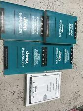 2001 JEEP WRANGLER Service Shop Repair Manual Set W Diagnostics + Parts Book