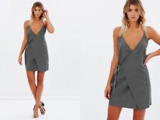 NWT maurie & eve leyenda dress charcoal size 10 rpr$149