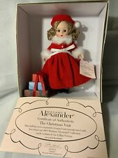 Madame Alexander Lillian Vernon The Christmas Visit #47620 🎄🎁🎄
