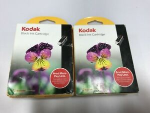 NEW 2 Pack - Kodak 10 Series Black Ink Cartridge for Easy Share & ESP Printers