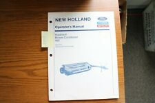 New Holland 492 Haybine Mower Conditioner Operators Manual 1993