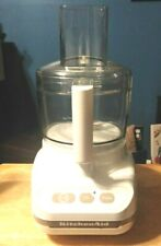 PRE-OWNED KITCHENAID KFP600WH 11 CUP FOOD PROCESSOR W/ ATTACHMENTS - EUC