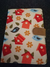 "Floral Case For 7""- 8"" Tablet/ E-Readers, Used But in Great Condition"