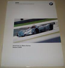 Du Mans ALMS American Le Mans Series 2000 BMW V12 LMR Sebring 12 Press Media Kit