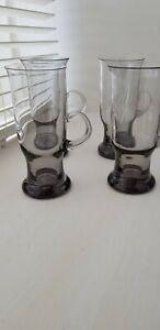 Vintage 1980s Wedgewood Seamus Irish Coffee glasses x 4 Frank Thrower Design
