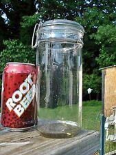 Antique 1 quart VICTORY Fruit Jar w/Lid mason canning Strong Clasp Boston