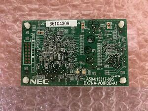 NEC DX7NA-VOIPDB-A1 1091044 DSX 40 80 160 IP VoIP Phone Board 90 Day Warranty