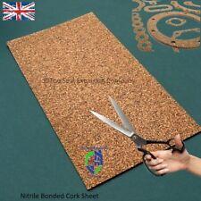Cork Rubber sheet/Gasket material Nitrile Bonded 1000mm x 3000mm x 1.5mm