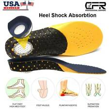 Orthotic Shoe Insoles Inserts Flat Feet Heel High Arch Support Plantar Fasciitis