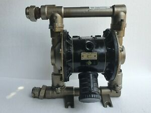 "Graco D74311 Husky 1040 Diaphragm Pump 1"" AODD pump Stainless Steel #1"