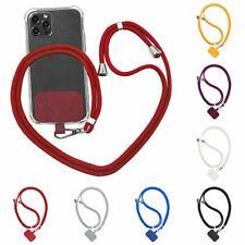 Universal Crossbody Nylon Patch Phone Lanyards Mobile Phone Strap Lanyard Rope