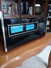 Mcintosh MC2002 w/wooden cabinet .mint condition.